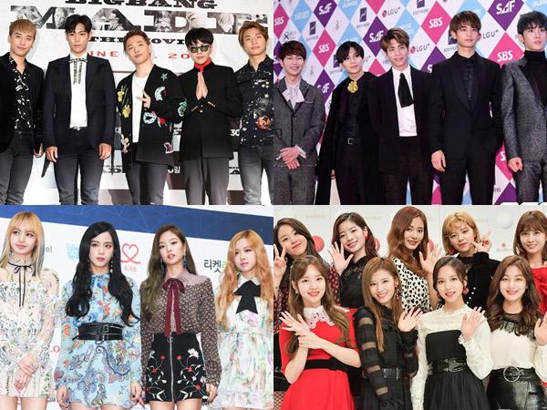 Big Bang Hingga SHINee Raih Penghargaan Besar di 'Japan Gold Disc Awards 2018'