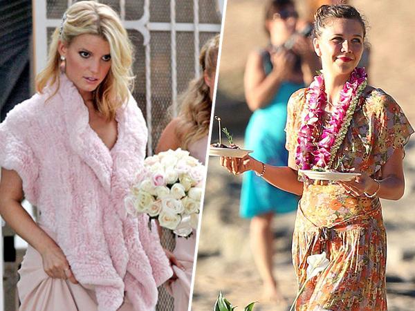 Intip Gaya Cantik Selebriti Dunia Saat Jadi Bridesmaids (Part 2)