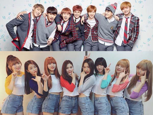 MBC Rilis Potongan Gambar Keseruan BTOB dan Oh My Girl Adu Masak di 'Idol Chef King'