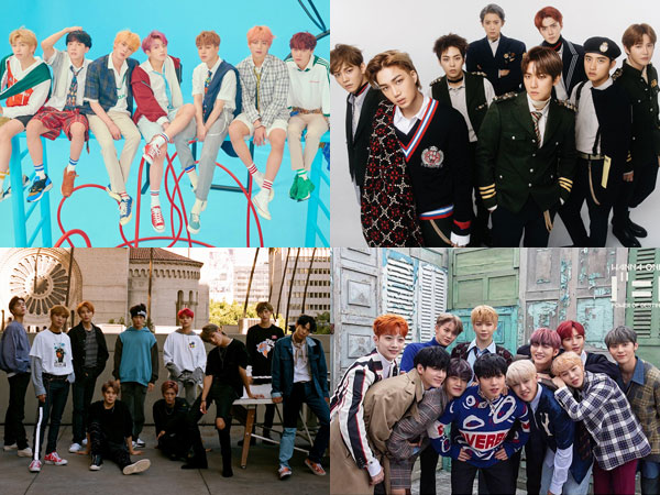 BTS, EXO, dan NCT 127 Bertahan, Wanna One Debut di Chart Billboard World Albums