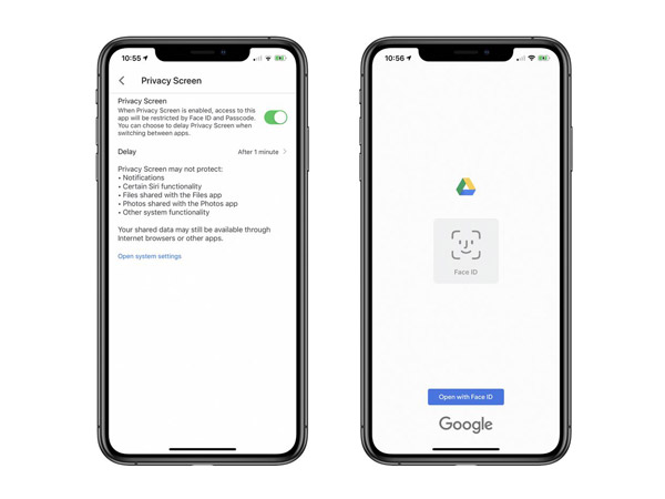 Google Drive Terapkan Fitur Keamanan dengan Teknologi Face ID dan Touch ID