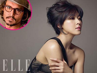 Ha Ji Won Resmi Gabung ke Agensi Johnny Depp