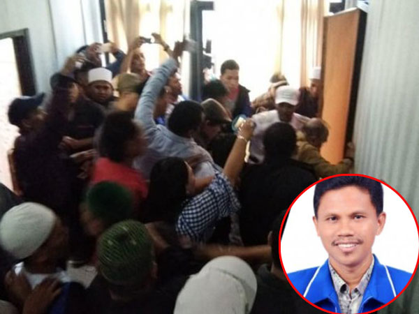 Massa Keroyok Anggota DPRD Sampai Babak Belur Karena Unggah Meme Habib Rizieq Ini