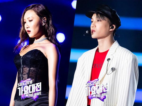 Stylist Ungkap Fakta dari Kontroversi Outfit Panggung Hwasa MAMAMOO dan Kai EXO di SBS Gayo 2018