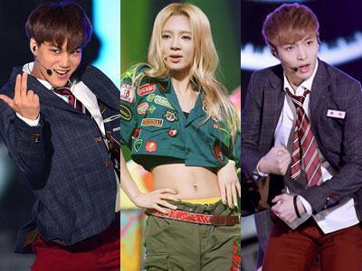 Hyoyeon SNSD, Kai & Lay EXO Alami Kesalahan Teknis di Dancing 9