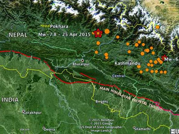 Gempa Nepal Geser Ibu Kota Sejauh Tiga Meter!