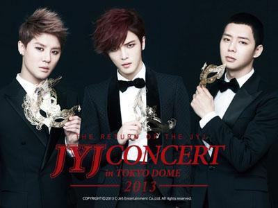 Konser Comeback JYJ di Tokyo Dome Lebih Megah dari Konser Michael Jackson?