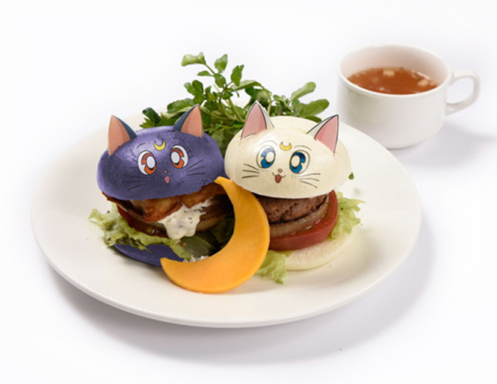 Burger Luna Hingga Kari Toxedo Bertopeng Siap Disuguhkan Kafe Bertema Sailoormoon Ini
