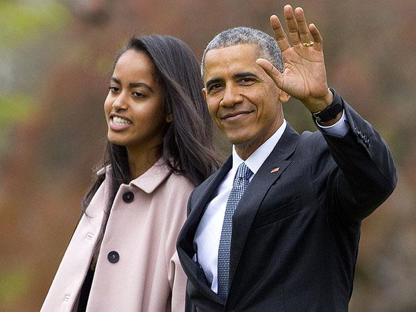 Ucapan Selamat Lebaran dari Malia Obama Saat Tengah Liburan di Bali