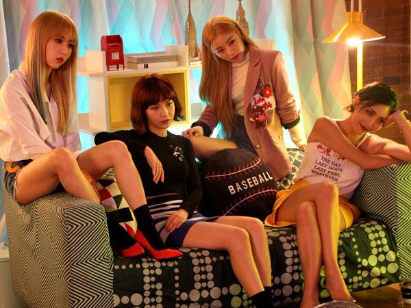 Wah, MAMAMOO 'Sulap' Seoul Jadi Gemerlap A la Amerika di MV 'New York'