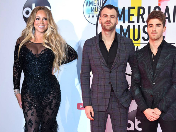 Kocaknya Mariah Carey Kira The Chainsmokers Sebagai One Direction