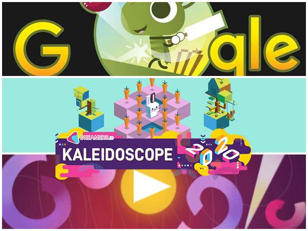 5 Permainan Google Doodle Paling Populer di Tahun 2020