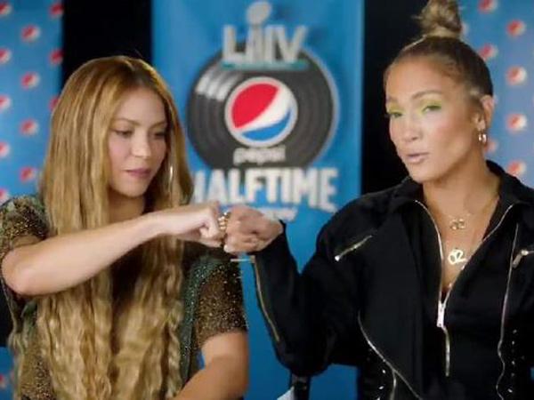 Shakira Janjikan Penampilan Spesial Bareng Jennifer Lopez di Super Bowl 2020