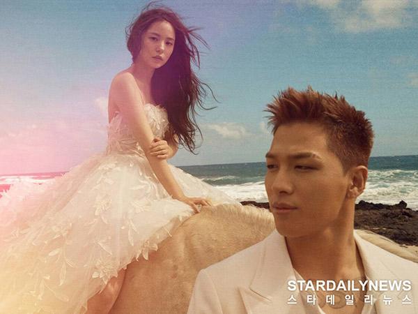 #DopeWeddingCongratz, Taeyang dan Min Hyo Rin Akhirnya Resmi Menikah!