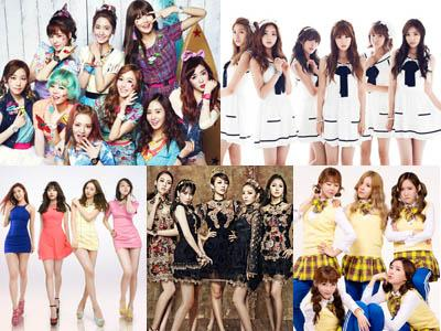 Inilah Ranking Girl Group K-Pop Terpopuler di 2014 Versi 'Sports Chosun'!