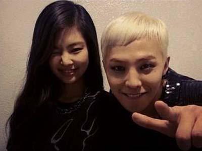 Akrabnya G-Dragon dan Jennie Kim di Balik Panggung Inkigayo!
