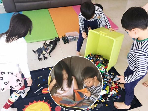 Bermain Sambil Belajar, Gemasnya 'Playdate' Ala Song Triplets, Chu Sarang, dan Ji On!