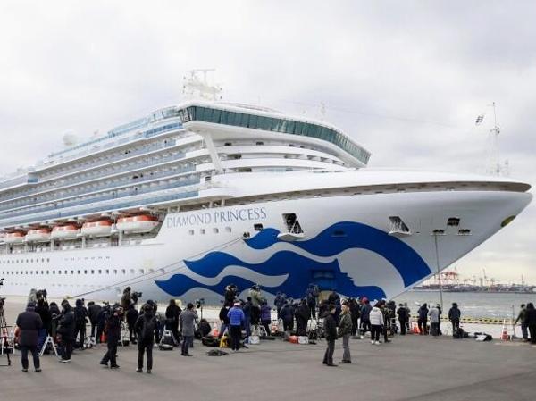 Bertambahnya Pasien yang Terserang Virus Corona di Kapal Persiar, Otoritas Jepang Akan Perluas Pemerikasaan