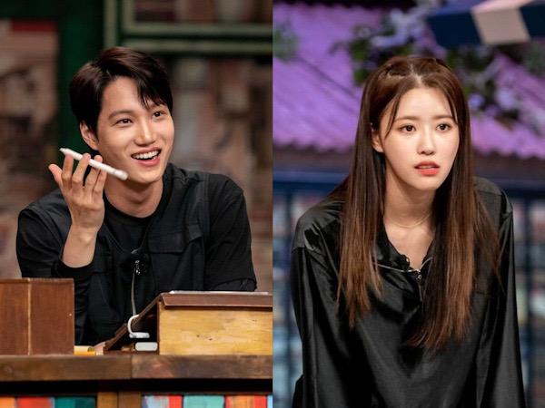 Interaksi Kai EXO dan Mijoo Lovelyz Tuai Respon Positif Netizen