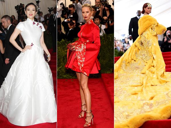 Zhang Ziyi Hingga Rihanna, Simak Best Dress di Red Carpet Met Gala 2015