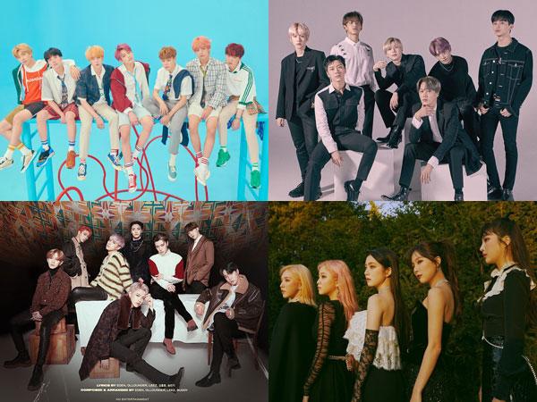 BTS Kembali No. 1, Inilah Artis K-Pop yang Tempati Chart Billboard World Album Minggu Ini