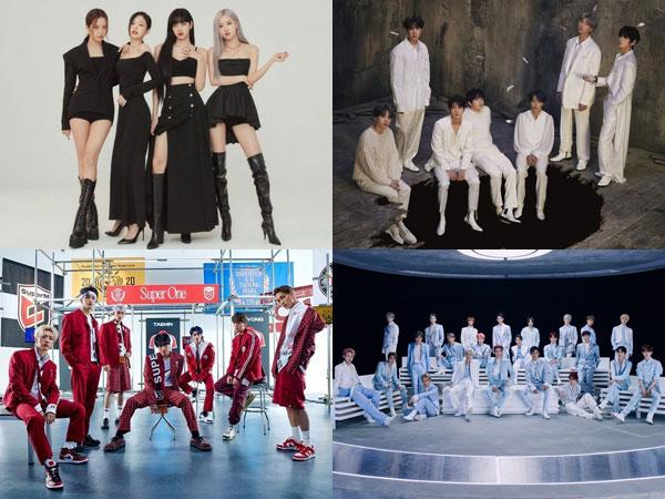 BLACKPINK, BTS, SuperM, dan NCT Raih Peringkat Tinggi di Chart Billboard World Albums