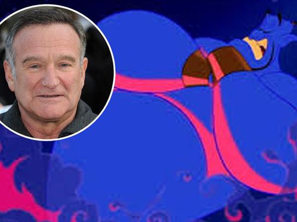 Video Yang Tak Pernah Terlihat Dari Robin Williams Sebagai Genie Tuai Rasa Haru