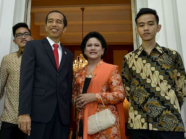 Respon Kaesang dan Gibran Terhadap Pelaku Penghina Ibu Iriana Jokowi