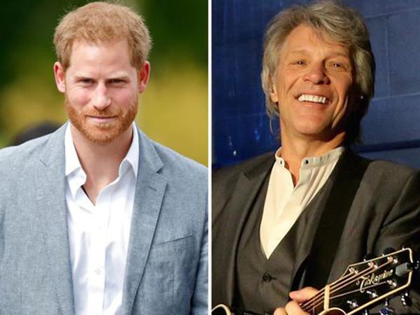 Pangeran Harry Kolaborasi dengan Bon Jovi untuk Lagu Ajang Olahraga