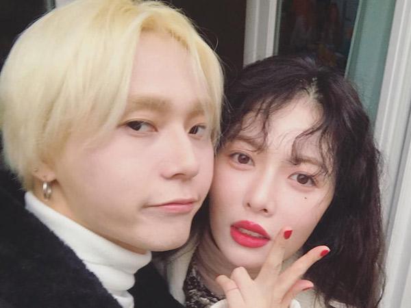 Terungkap HyunA dan E'Dawn Kini Sudah Tinggal Berdekatan