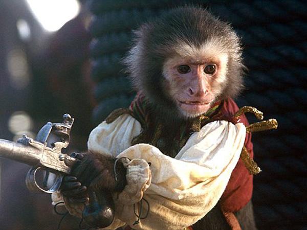 Duh, Seekor Monyet Di 'Pirates Of Caribbean' Serang Kru Film!