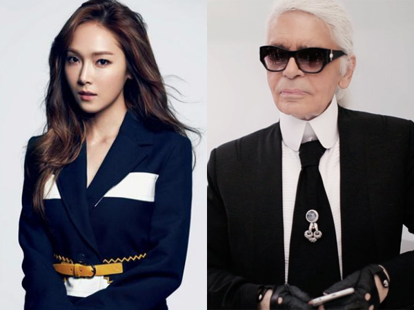 Airport Fashion Jessica Jung Berhasil Curi Perhatian Desainer Ternama Karl Lagerfeld!