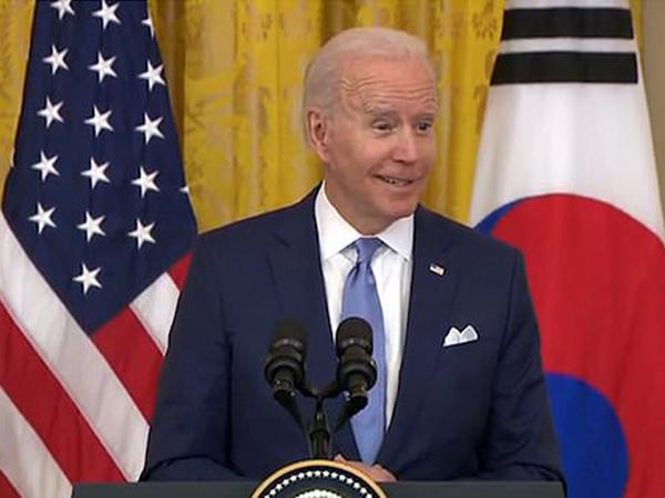 Joe Biden Puji Kpop dan Film Korea di Depan Presiden Moon Jae In