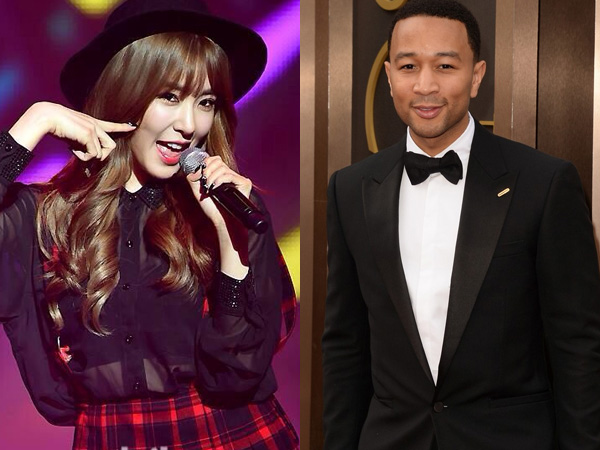 Wow, Tiffany SNSD dan John Legend Akan Berkolaborasi di MAMA 2014?
