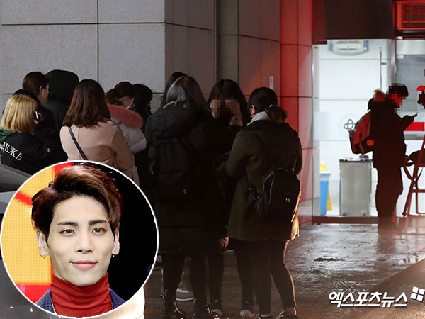 Apartemen Disegel Polisi, Fans Datangi Rumah Sakit Nantikan Kabar Terbaru Jonghyun SHINee