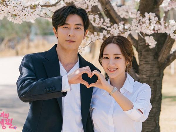 Intip Momen di Balik Layar Adegan Kim Jae Wook Lamar Park Min Young di 'Her Private Life'