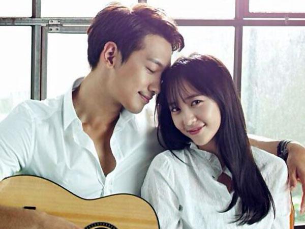 Manisnya Ketika Rain & Krystal f(x) Terlihat Mesra Dibalik Layar 'My Lovely Girl'