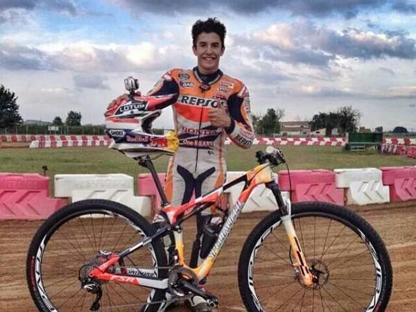 Pebalap MotoGP Marc Marquez Alami Patah Tulang Lengan Saat Main Sepeda