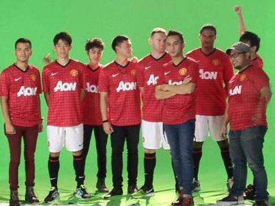 Nidji Rilis Video Klip Bersama Pemain Manchester United