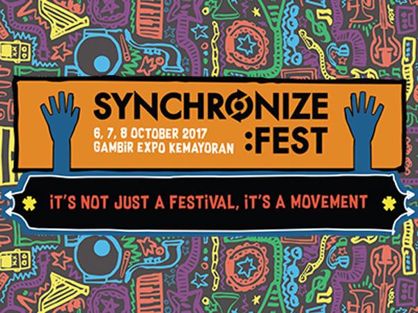 Gaet 96 Musisi, Simak Line-up Seru Synchronize Fest!