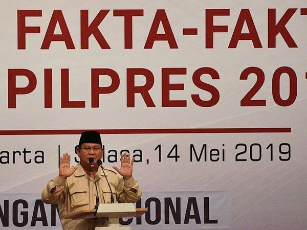 Angka Klaim Kemenangan Prabowo-Sandiaga yang Berubah dari 62 Persen Ke 54 Persen