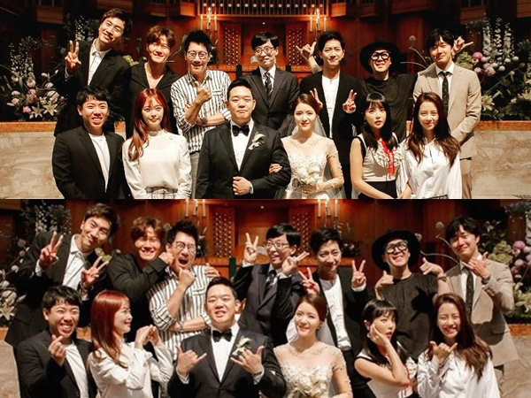 Member 'Running Man' Kompak Hadiri Pernikahan Produser, Ada Jung Il Woo Juga!