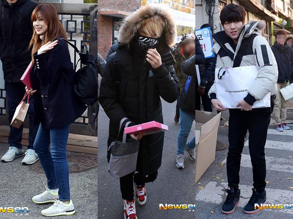 Hayoung A Pink, Youngjae GOT7, dan Yoo Seung Woo Ikuti Ujian Masuk Universitas
