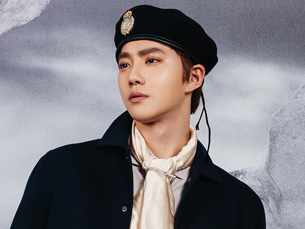 Foto Perdana Suho EXO dari Markas Militer, Gantengnya Ngga Luntur