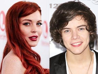 Lindsay Lohan Ketawai Rumor Gay Harry Styles