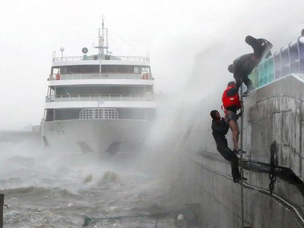 Korea Selatan Diterjang Badai Hebat, Aktivitas Lumpuh dan Telan Korban Jiwa