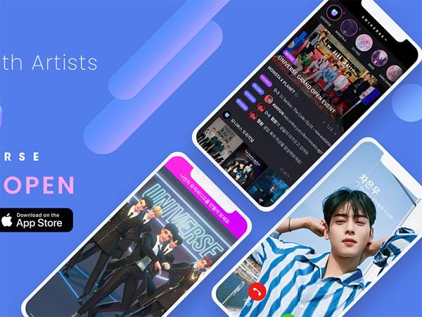 Aplikasi Fans K-Pop UNIVERSE Meluncur di 134 Negara, Sudah Download?