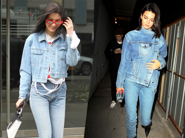 Tips Ikuti Trend Fashion 'Denim On Denim' Ala Selebriti Hollywood