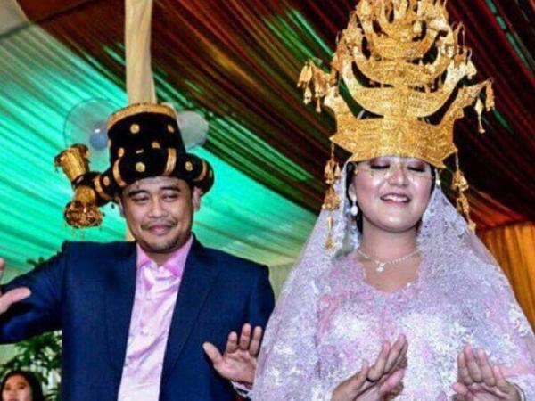 Empat Pesan Penting Jokowi untuk Pengantin di Pesta Adat Kahiyang-Bobby
