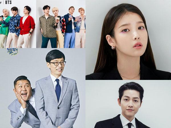BTS Hingga Song Joong Ki Menang Brand of the Year Awards, Ini Daftar Lengkapnya